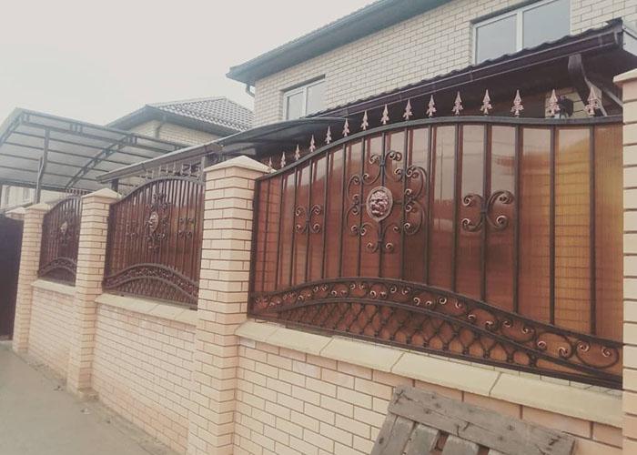 кованый забор Яблуновский