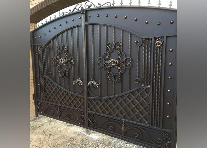 Кованые ворота Каневская