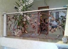 кованые перила модерн