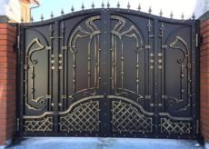 Кованые ворота в Краснодаре