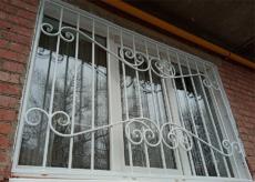 Решетки на окна в Краснодаре - Дамаск