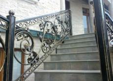 кованые перила для лестниц Damask