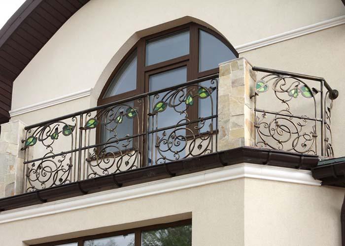 блестящие акценты красивые кованые балконы фото том, что более