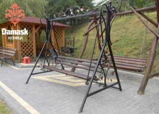 Кованые качели в Сочи - Damask